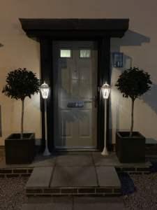 Luxform lamppost - garden lighting
