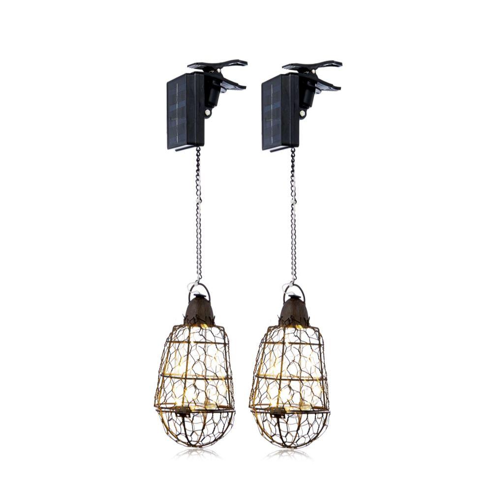 Rustic hanging lights