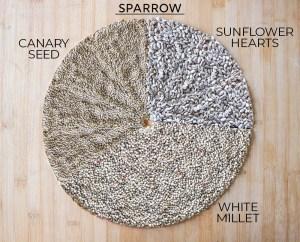 Sparrow food mix