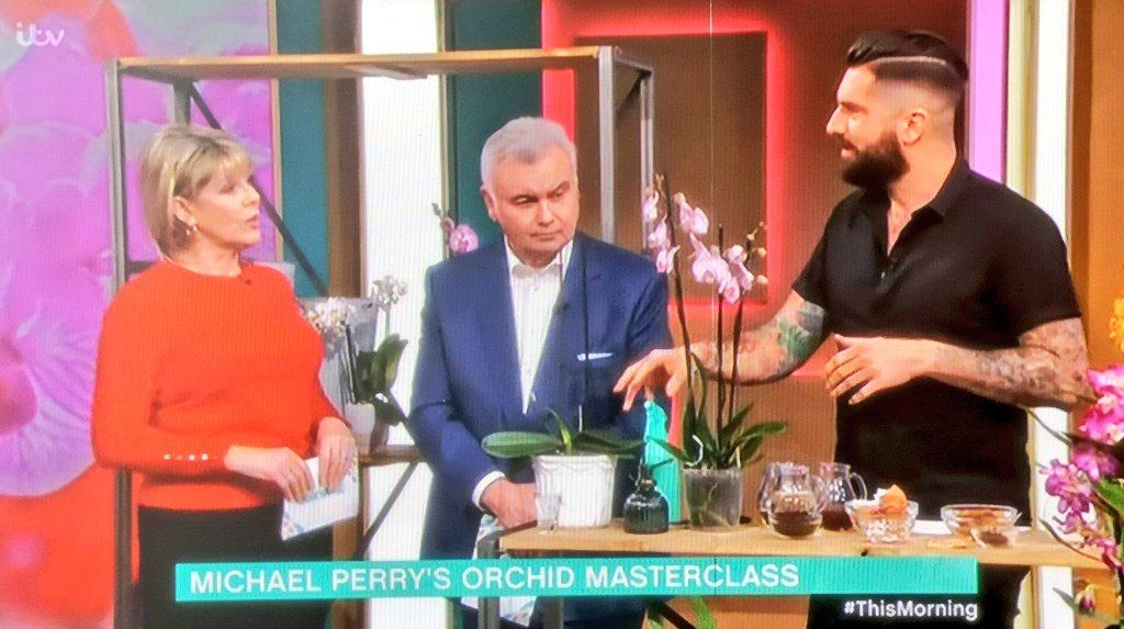 Michael Perry on This Morning