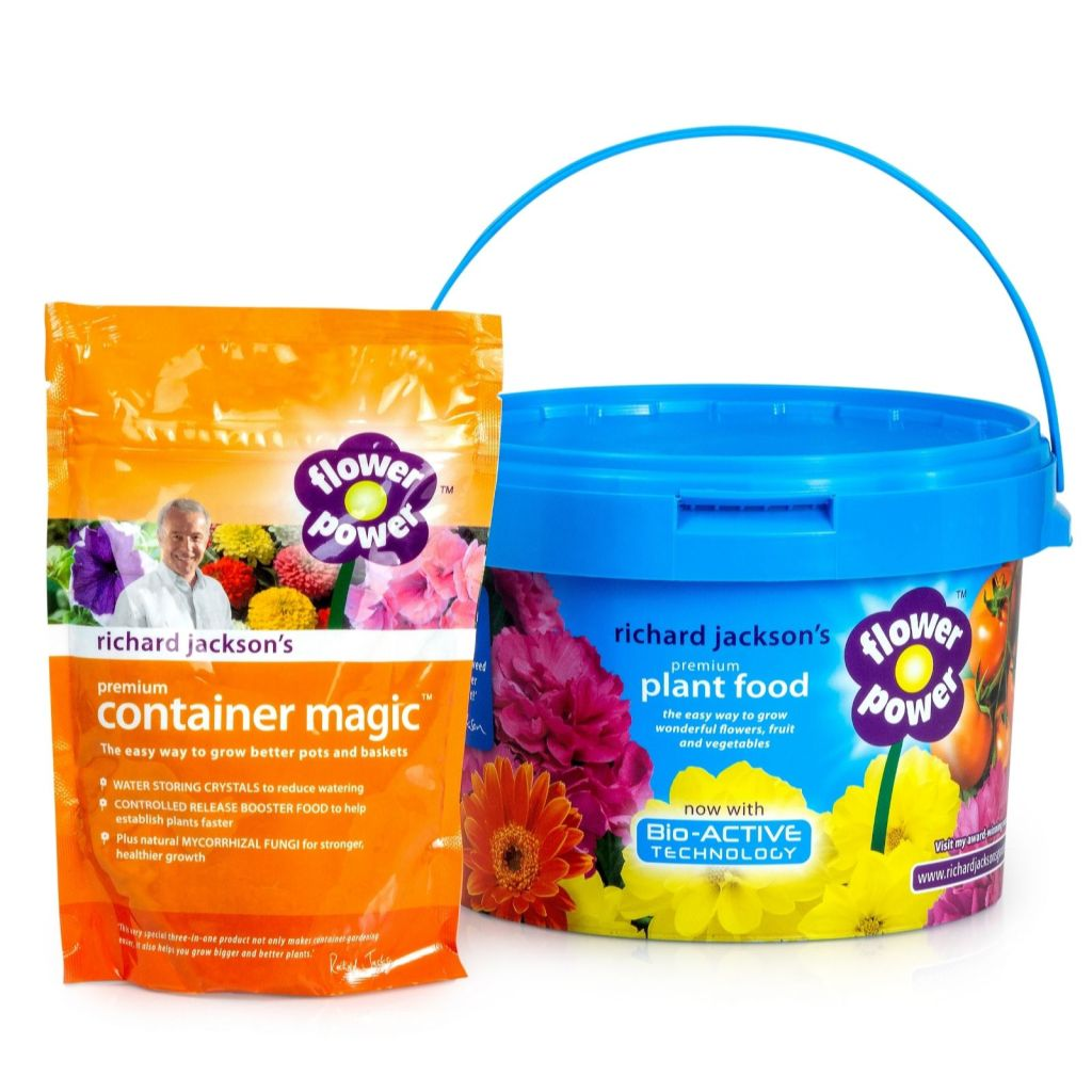 Richard Jackson Plant Food and Container Magic