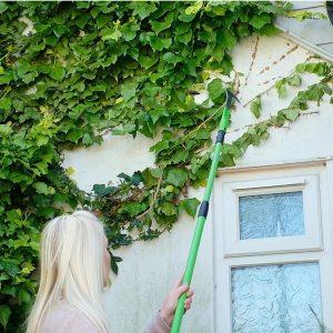 Multi head rake broom