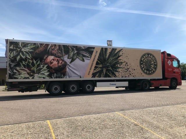 Mr Plant Geek Mangave lorry