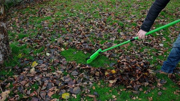 Grumpy Gardener Multi-Head Rake Broom
