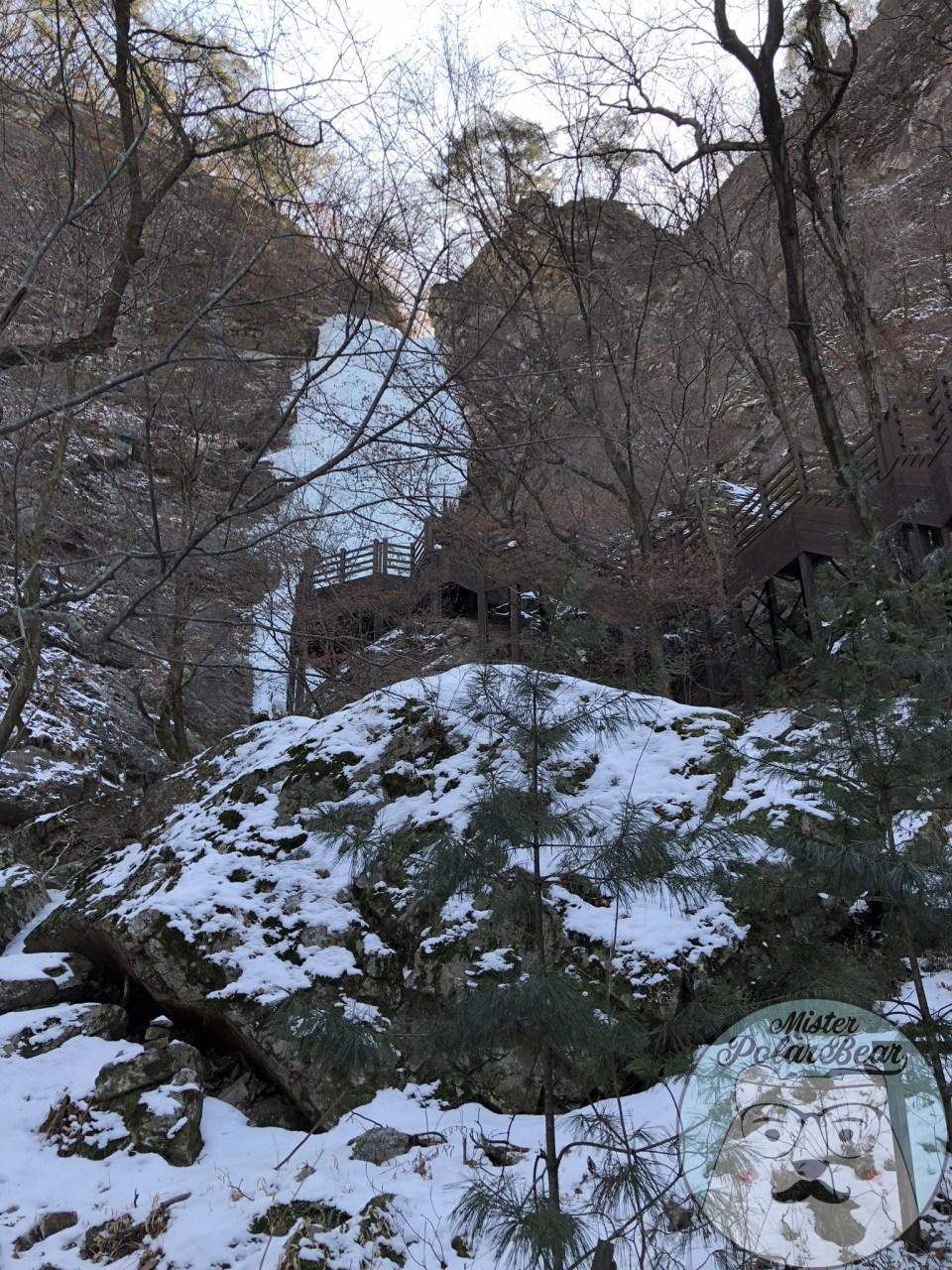 九曲瀑布, 觀景台