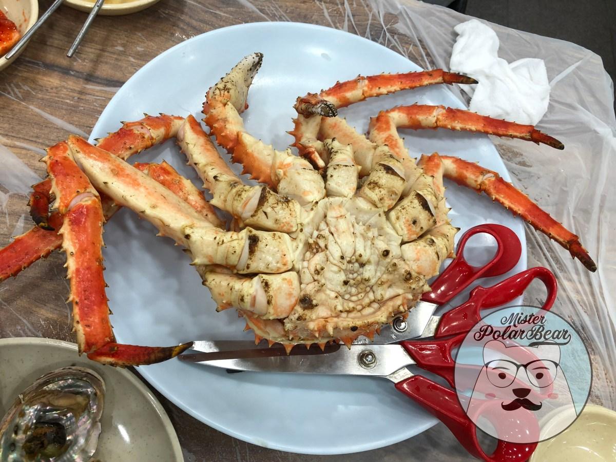 【首爾自由行】鷺梁津水產市場.皇帝食堂 | 必食帝王蟹海鮮餐,絕不被騙齊全攻略! 連蔡瀾也光顧! |