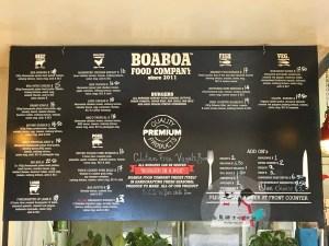 boaboa menu