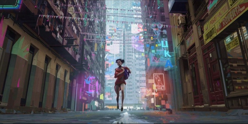 《Love,Death,Robot 》| 享盡眼福的成人美學 ~ 在香港取景的美女與機械 !