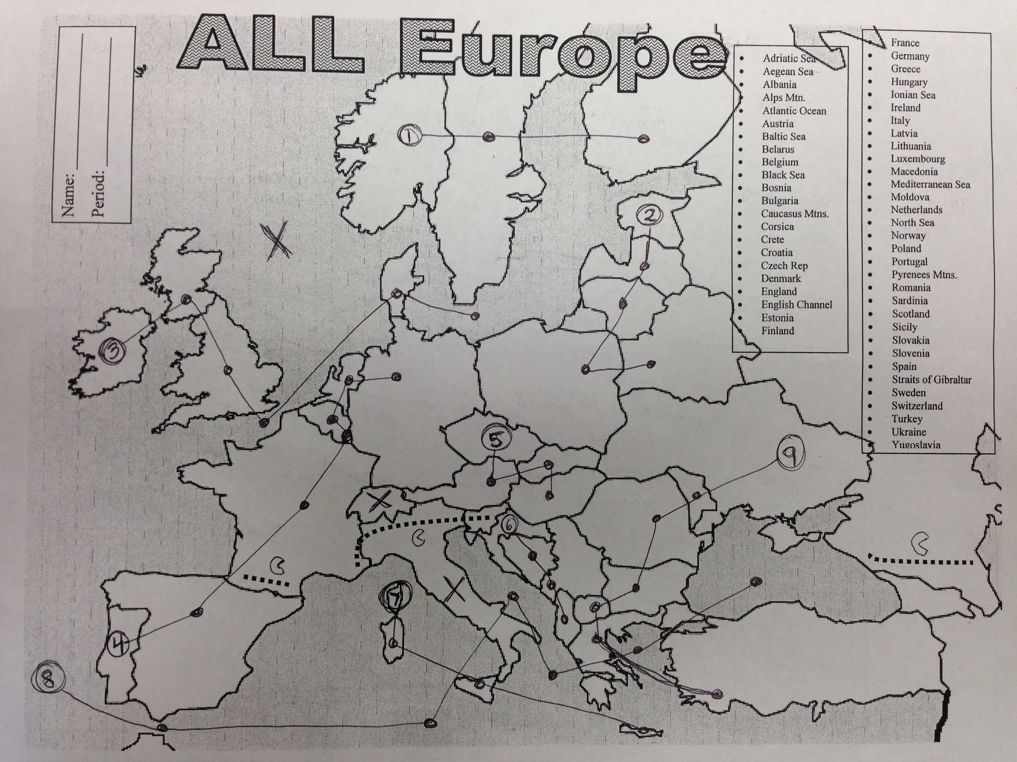 10 Tricks To Memorize The Map Of Europe