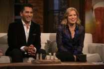Cliff Curtis, Kim Dickens - Talking Dead _ Season 5, Episode 18 - Photo Credit: Jordin Althaus/AMC