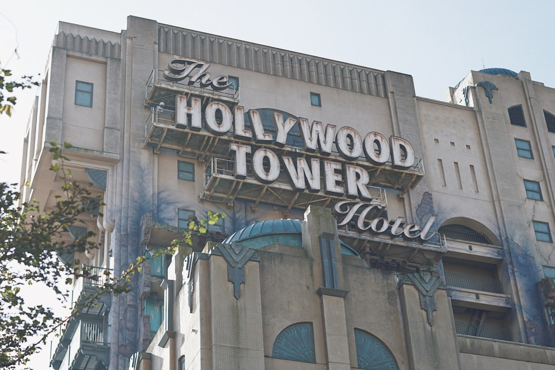 The Hollywood Tower Hotel at Disney® Studios in Paris. Magical Pride.