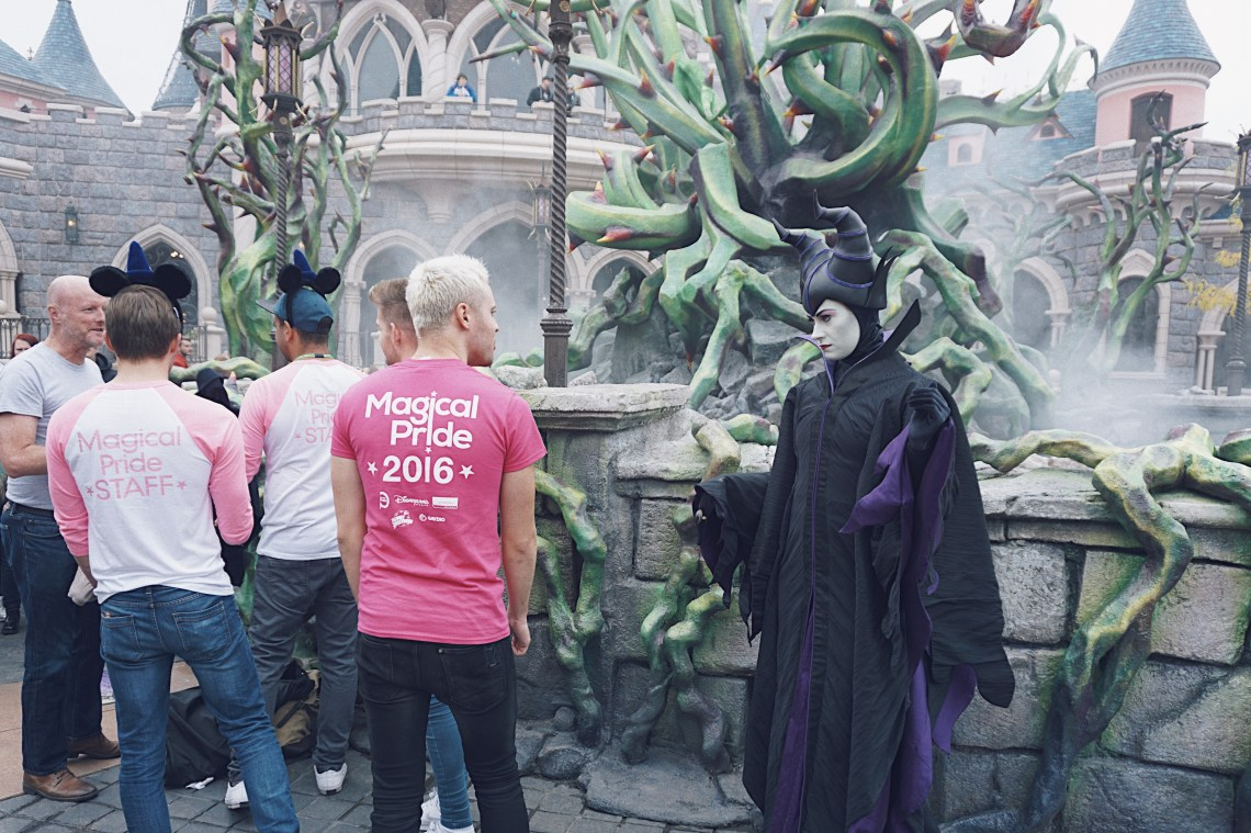 Maleficent. Magical Pride at Disneyland® Paris.