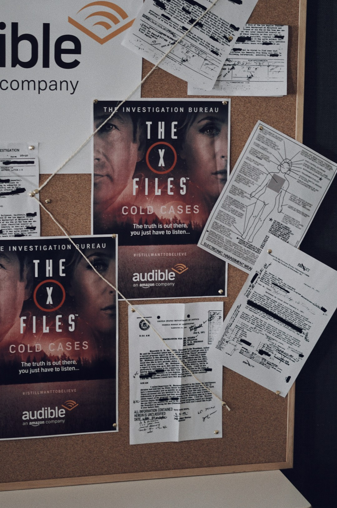 The X-Files: Cold Cases audiobook is now available on Audible. Blog by Skirmantas Petraitis.