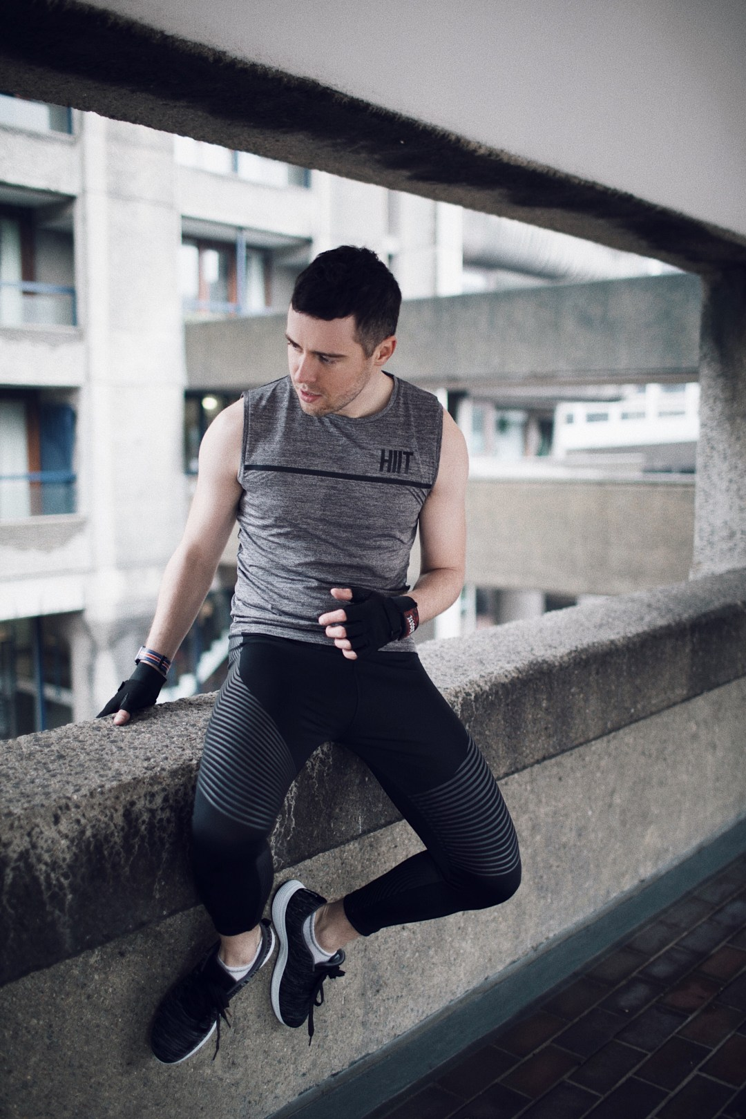 HIIT Sportswear at Burton Menswear London. Shot at Barbican by Justina Naviskaite @itsjustinesjournal. Blog by Skirmantas Petraitis.