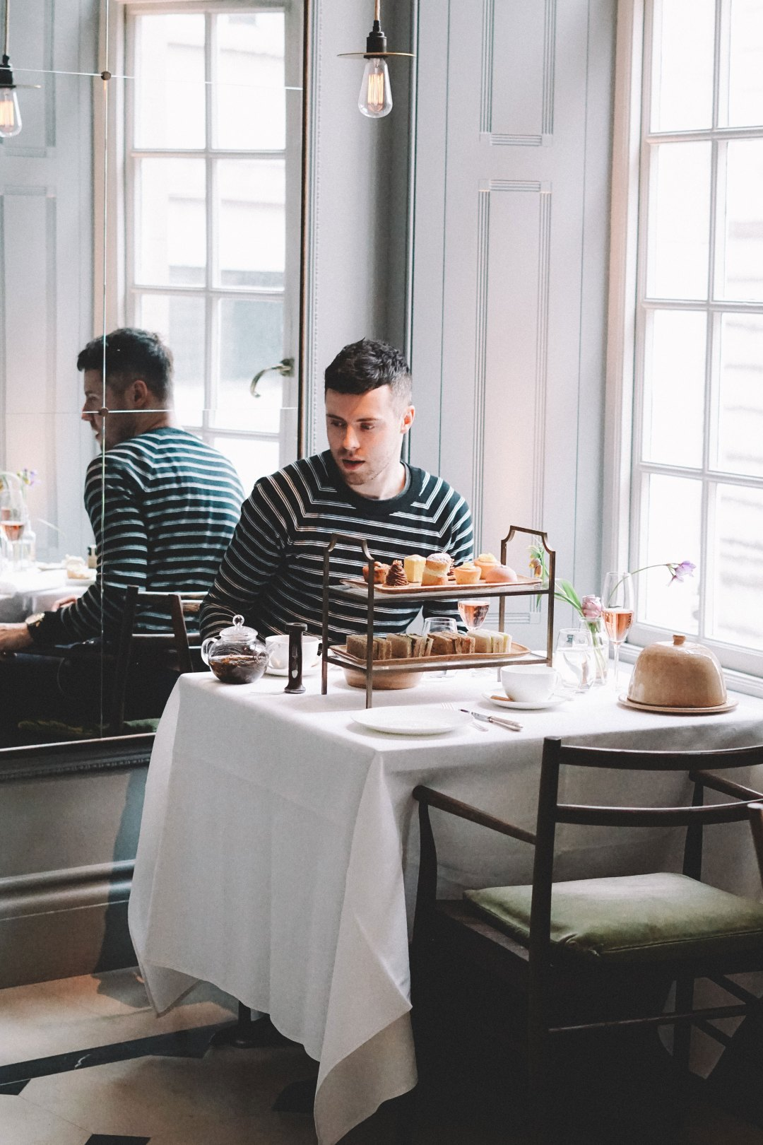 Afternoon Tea. Thomas's Cafe at Burberry Regent Street. Blog by Skirmantas Petraitis.