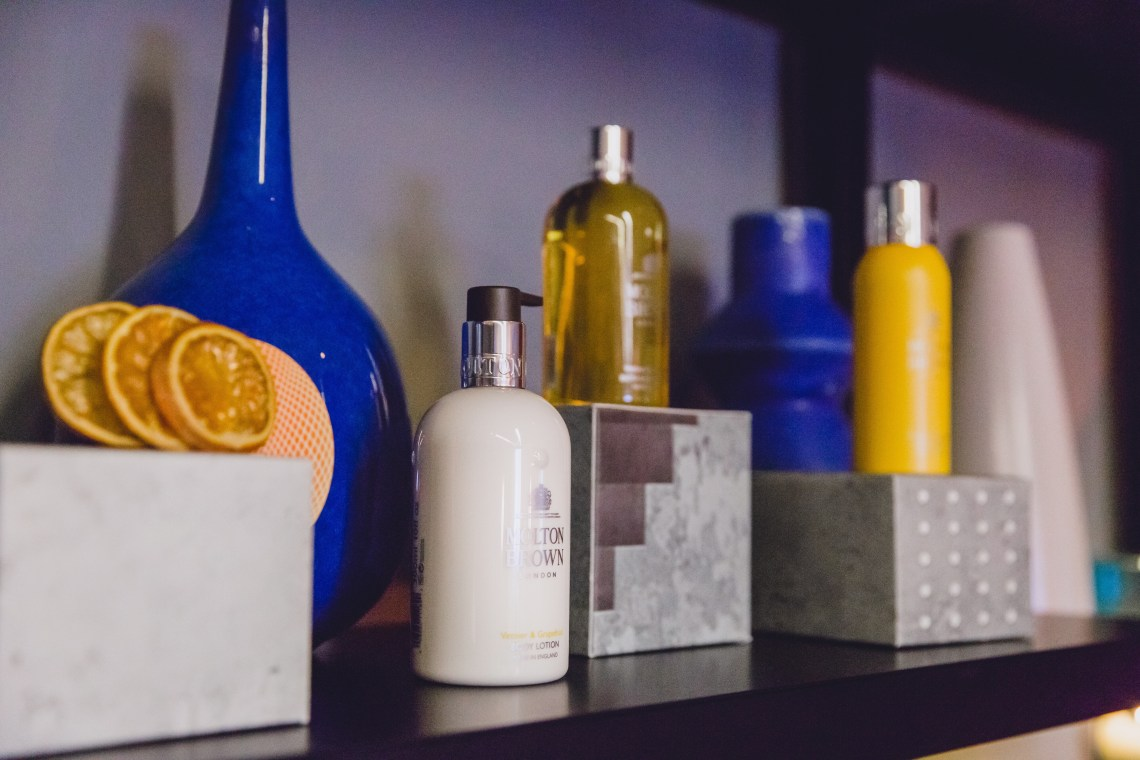 Molton Brown Vetiver & Grapefruit Collection. #BuildTheTension at Mondrian London hotel. Blog by Skirmantas Petraitis.