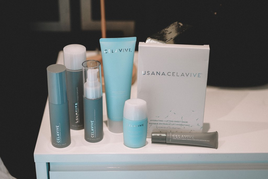 USANA CELAVIVE® skincare range review. Blog by Skirmantas Petraitis.