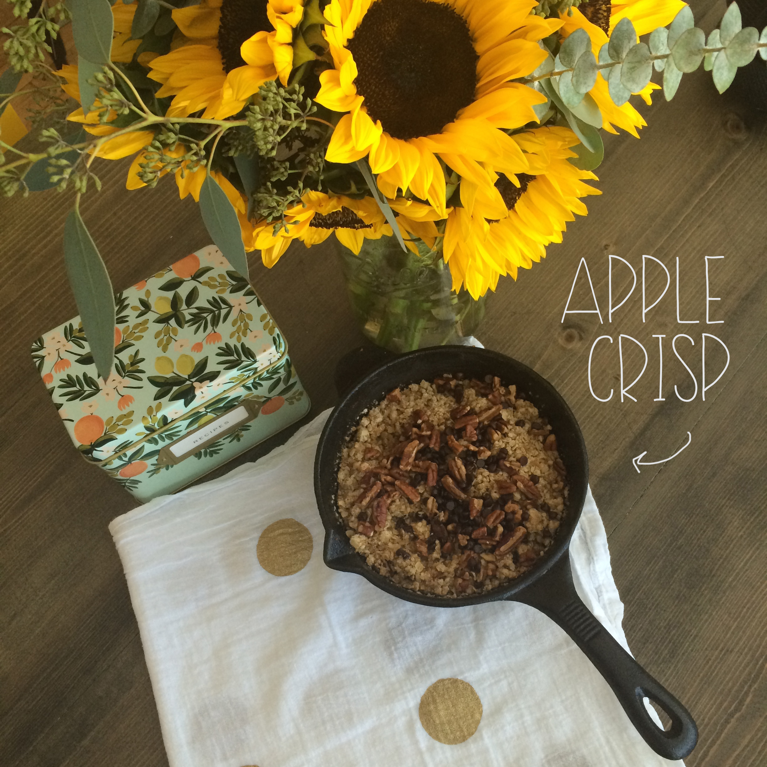 Apple Crisp | Red Autumn Co