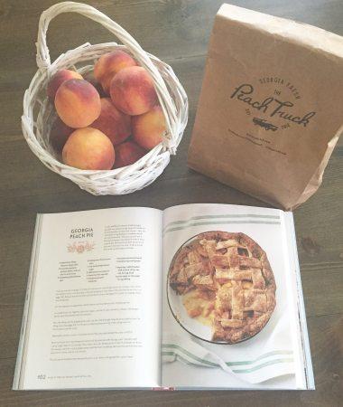 Baking a Georgia Peach Pie