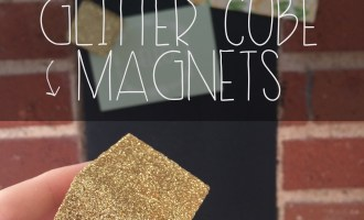 Glitter Cube Magnets | Red Autumn Co