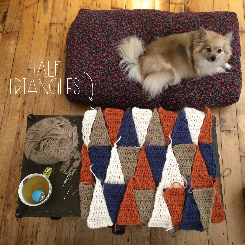 Half Triangles | MrsAmberApple