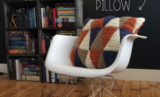 Make This Geometric Pillow | MrsAmberApple