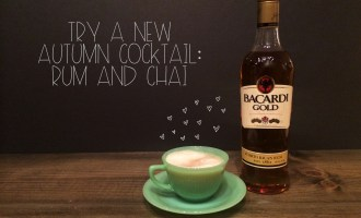 Rum and Chai Autumn Cocktail | Red Autumn Co