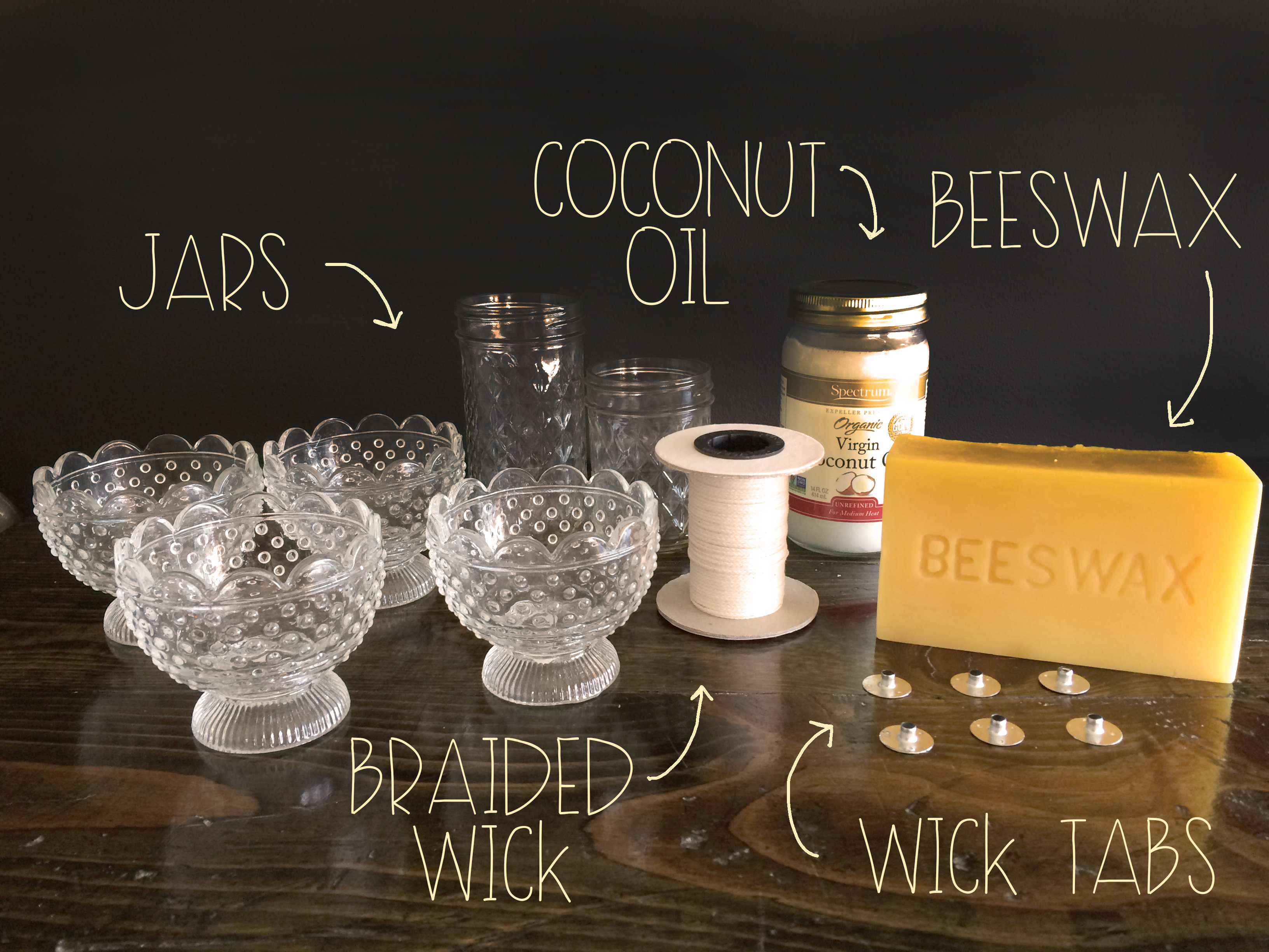 What You Need For Bees Wax Candles | MrsAmberApple