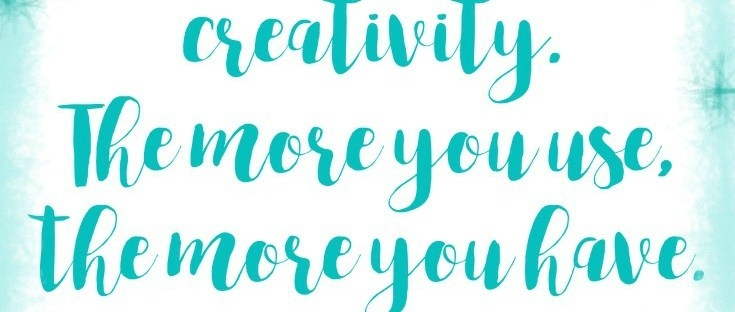 Creatives Box Swap| You can't use up creativity, The more you use, the more you have. Maya Angelou