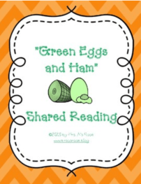 Green Eggs and Ham Shared Reading Snip 1