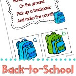 Back to School Circle Time Games