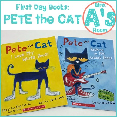 First Day Books: Pete the Cat