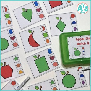 Four Apples & Math Busy Boxes