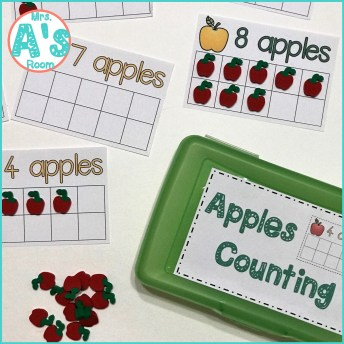 Four Apples & Math Busy Boxea