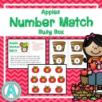 Apples Number Match Busy Box