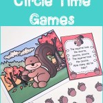 Fall Numbers Circle Time Games