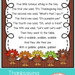 Thanksgiving Poems for Preschool