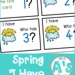 "Spring ""I Have, Who Has"" **FREEBIE**"