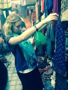 Shopping in Varanasi India