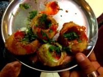 Panipuri Indian food