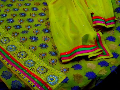 Silk pashmina India