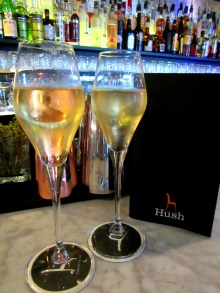 Cocktails at Hush