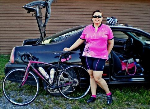 TdCorn 2012 T at car