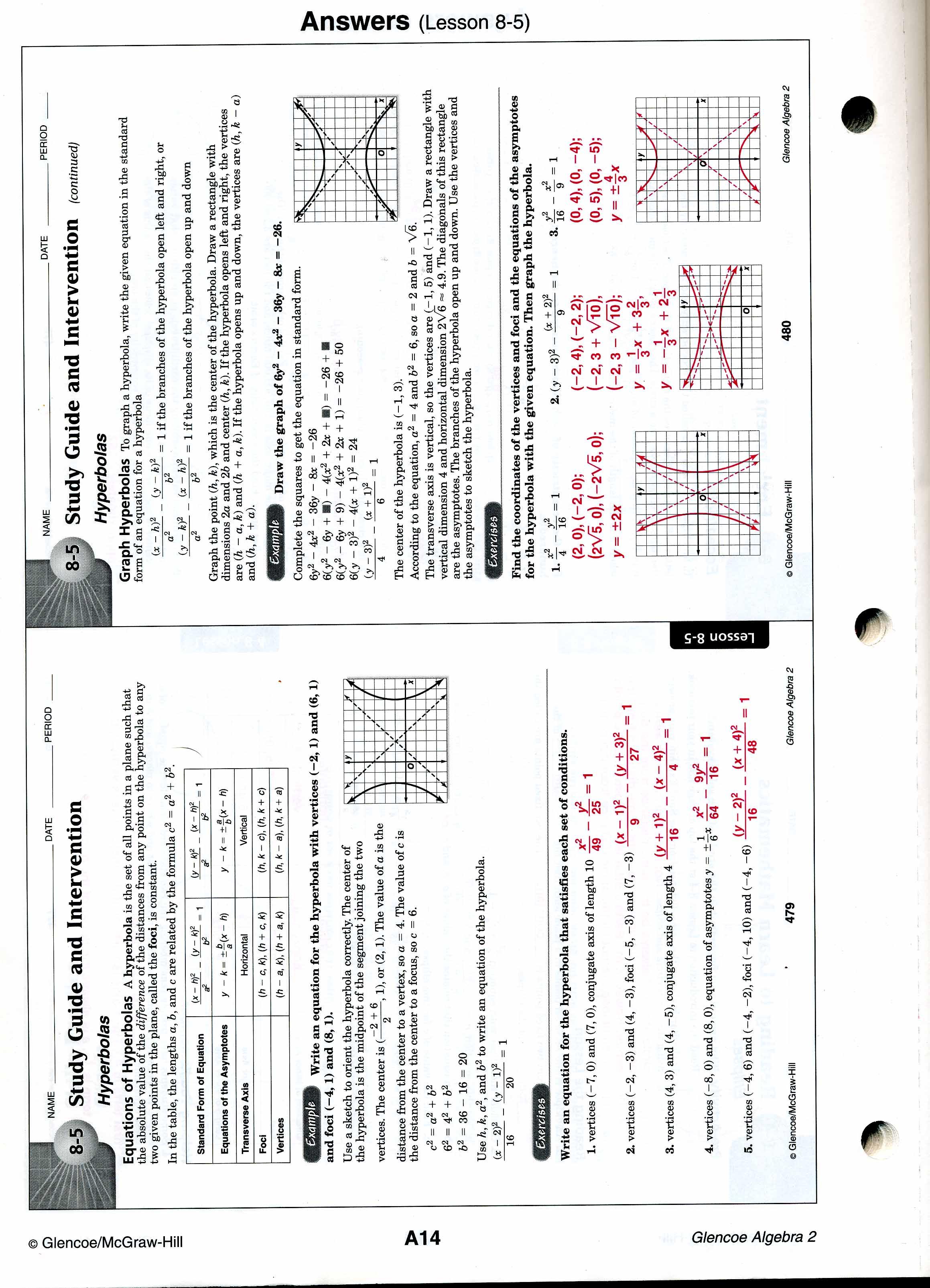 Mrscabral Algebra 2 Worksheet Answers