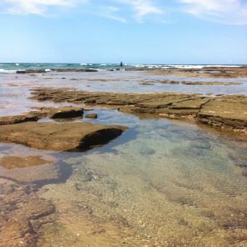 Bhanga Nek rock pools