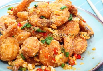 Udang Goreng Telur Asin by Mrs. Culinary