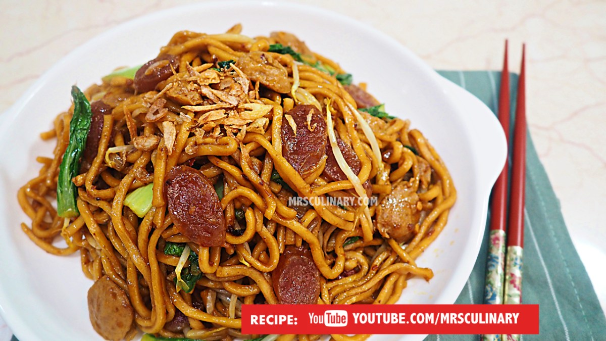 Cara membuat mie goreng babi by Mrs Culinary