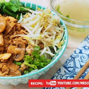 Resep Mie ayam jamur by Mrs Culinary