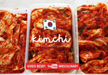 cara membuat kimchi
