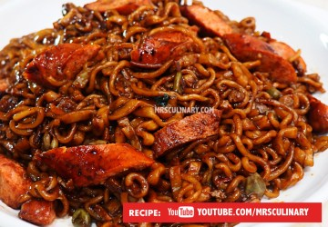 Resep mie JAJANGMYEON by Mrs Culinary